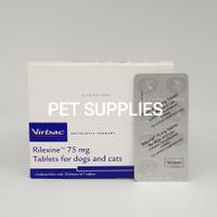 Obat antibiotik kulit anjing kucing, VIRBAC RILEXINE, 75 mg
