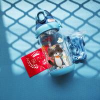 BOTOL MINUM ANAK 570 ml BPA FREE Anti Bocor Diller Maxhome Wild Life