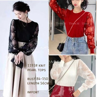 Blouse Top pearl