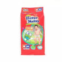 PAMPERS HAPPY NAPPY PANTS M34 / HAPPY NAPPY PANTS M POPOK MURAH