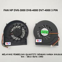Fan HP DV6-3000 DV6-4000 DV7-4000 3 PIN