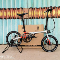 Element Troy X Chromoly 10speed 16 New not Fnhon Gust Izi Pikes Dahon