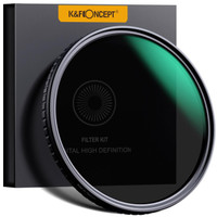 KNF CONCEPT Nano X Pro Filter Variable ND 8-128 - 58mm - No X Spot