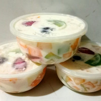 Salad buah segar 400ml