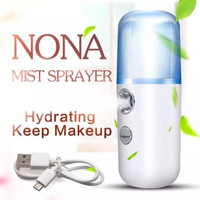 Nano Spray Perawatan Wajah Mini Portable USB Mist Sprayer Pelembab