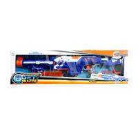 sniper soft bullet gun / pistol mainan mirip nerf sniper auto peluru