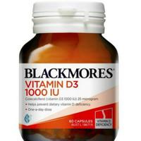BLACKMORES VITAMIN D3 1000 IU/VITAMIN TULANG 60 KAPSUL(KEMASAN BARU)