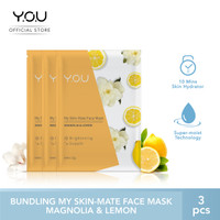 My Skin-Mate Face Mask 3 in 1 by You Makeups - Magnolia& Lemon