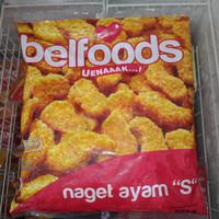 Nugget S Belfoods Original Chicken 500g Frozen Food Grosir Berkualitas