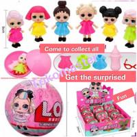 Mainan anak perempuan lol impor blind bags surprise egg doll boneka