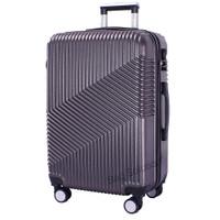 Real Polo Tas Koper Kabin Hardcase Fiber ABS-4 Roda Putar-EJFB Size 20