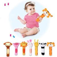 Mainan Tangan Genggam Bayi Bunyi / Stick Hand Rattle Toy Baby - PANDA