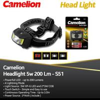 Headlamp Camelion S51 Original