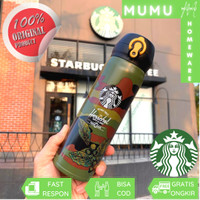 Starbucks Tumbler ORIGINAL Thermos Air Panas Dingin GRANDE LS34