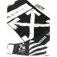 PROMO Set Tshirt + Mask Hypebeast Off white X black