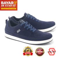 Sepatu Sneakers Pria Kuzatura NC KZS 483 Navy - Navy, 39