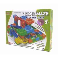 Mainan Track Maze Toys Brick 128 pcs No.8301