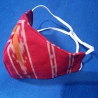 masker kain batik tenun