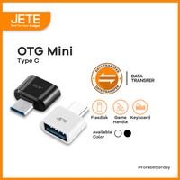 OTG Mini Type C to USB   Adapter Converte JETE OTG Type C