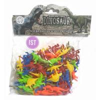 Mainan Binatang Dinosaur Mini isi 100 pcs No.566-1