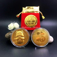Kantong Koin Emas 24k Tahun 2021 Kerbau Kado Imlek Angpao Koin Emas - Motif A