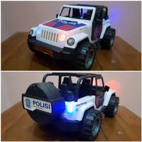 Mainan Mobil Jeep Polisi - Mainan Mobil Polisi