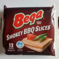 Keju Slice Cheddar (Bega Smokey BBQ Australia) - 200 Grm