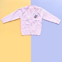 Baju Sweater Rajut Cardigan Atasan Anak Perempuan Import Real Pic No10