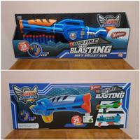 Mainan Tembakan Dart Blasting Peluru Busa - Mainan Tembakan Kokang