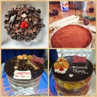 Plastik Mika Roll pinggiran Cake 12cm x 1meter