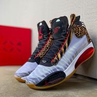 Sepatu basket nike air jordan 34 jay tatum zoo PE