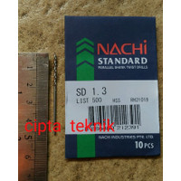 Mata Bor Besi Nachi 1,3mm - Matabor Besi Nachi 1.3mm