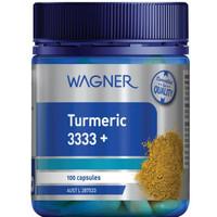 Wagner Turmeric 3333+ Vitamin Untuk Rematik Made In Australia