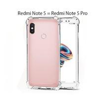 Xiaomi Redmi Note 5 / Redmi Note 5 Pro Casing Anti crack SoftCase
