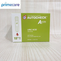 STRIP AUTOCHECK Uric Acid/Asam Urat - ISI 50 STRIP