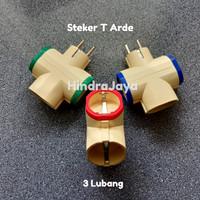 Steker T Arde / Stecker T Arde 3 Cabang Serbaguna