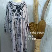 long dress rayon tie dye