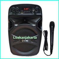 Speaker Aktif Portable GMC 897C 5inc Bluetooth Super woofer Bass