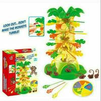 Mainan Family Games Monyet Susun Stik Tumbling Monkey