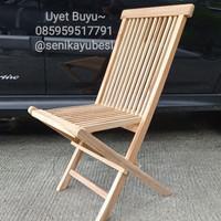 Kursi Jati, model Lipat, kursi kayu jati, kursi taman, garden furnitur