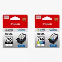 Tinta Catridge Canon Pixma 745s Black + 746s Color Original for:iP2870