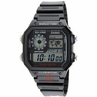 Casio Illuminator World Digital Jam Tangan Pri