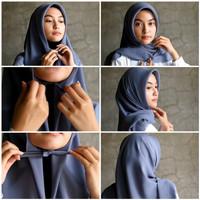 [3pcs] Hijab Kerudung Segitiga Instan Tali Dagu EL23