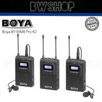 Boya BY-WM8 Pro-K2 Wireless Microphone - Boya WM8 Pro K2