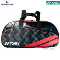 New Tas Raket Badminton / Bulutangkis Yonex LSQ10 Black Red
