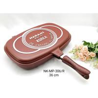 Nakami Grill Pan Magic Pan 36cm / Teflon Panggang Alat Pemanggang