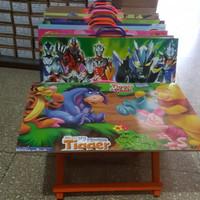 Meja Lipat Meja Belajar Anak Kayu