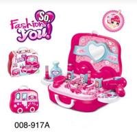 Fashion You Mainan Make Up Koper - Kado Mainan Anak Dandan Rias