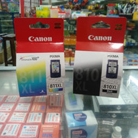 CATRIDGE CANON PG 810 XL BLACK & CL 811 XL COLOUR ORIGINAL