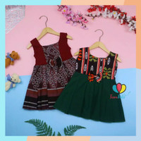 Dress Marsha Bayi 6-18 Bulan Dress Batik Baju Anak Balita Perempuan